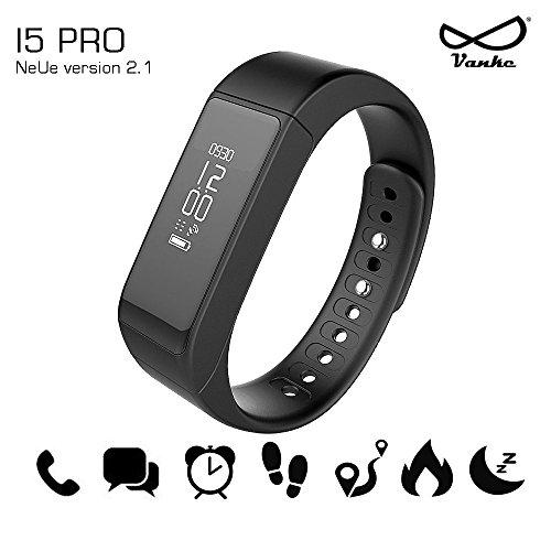 i5Pro Braccialetto fitness,fitness tracker,smart bracelet ,smartwatch con touchscreen Oled e Bluetooth 4.0 - contapassi, monitoraggio del sonno, notifiche chiamate/SMS/Whatsapp/Facebook/Twitter con Android e IOS