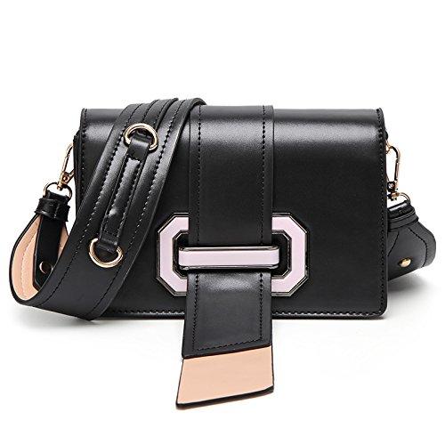 Mefly Eine Neue Single Bag Koreanischer Mode Lady Tasche black