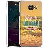 Samsung Galaxy A3 (2016) Housse Étui Protection Coque Volleyball Plage Été