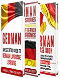 #6: German: Learn German For Beginners Including German Grammar, German Short Stories and 1000+ German Phrases