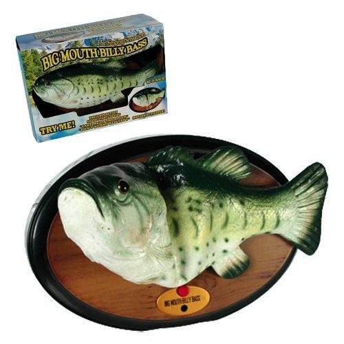 Big Mouth Billy Bass – Der singende & tanzende Fisch ca 28 cm (Don't worry be happy & I'll survive) - 2