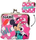 alles-meine.de GmbH Geldbörse -  Disney Minnie Mouse  - Incl. Name - Clip - Geldbeutel & Portemo..