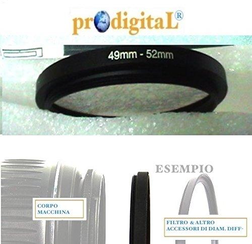 Anello Riduttore da 49mm a 52mm - Adattatore x Poter