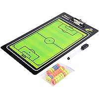 OKBY Tablero de fútbol - Tablero magnético de fútbol, fútbol, Pelota táctica para Entrenamiento de Competencia Enseñanza Entrenamiento