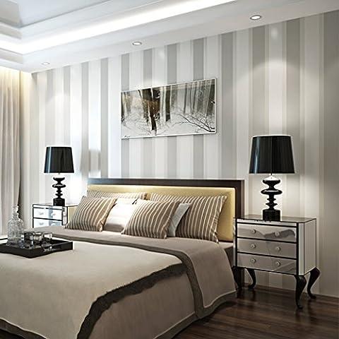 Aruhe® 10M carta da parati murales parete strisce semplice non tessuto murale che copre, muro televisore del salotto camera da letto carta da parati decorativa