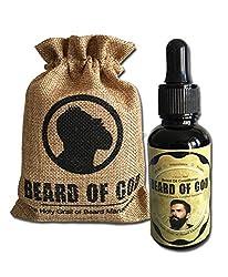 tWiSTeD Cinnamon | 1oz BEARD OIL Conditioner + BURLAP SACK By BEARD OF GOD | Made to Order | ORGANIC | Tames Wild Beard Hairs & Moisturizes Skin