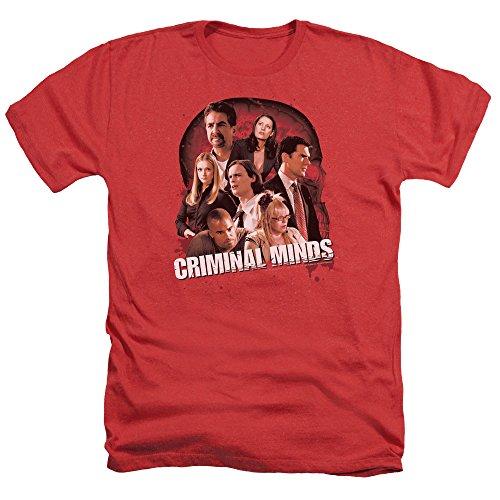 Criminal Minds TV Show CBS Brain Trust Adult Heather T-Shirt Tee