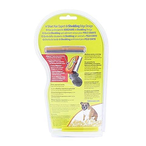 FURminator Short Hair deShedding Tool for Dogs,
