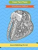 Ozean Tiere Thema: Erwachsenes Malbuch