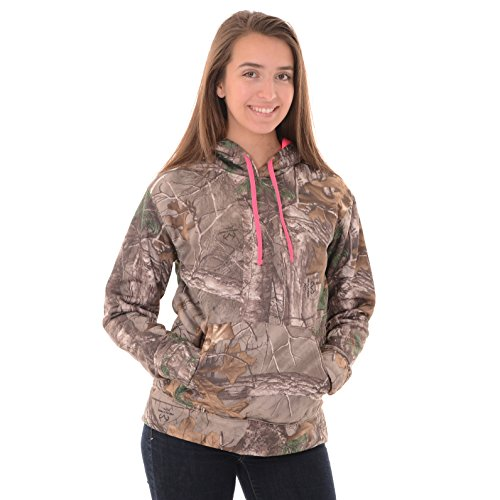 Realtree Performance Damen Fleece-Pullover Camo, Damen, RealTree Xtra, Medium Camo-fleece-pullover