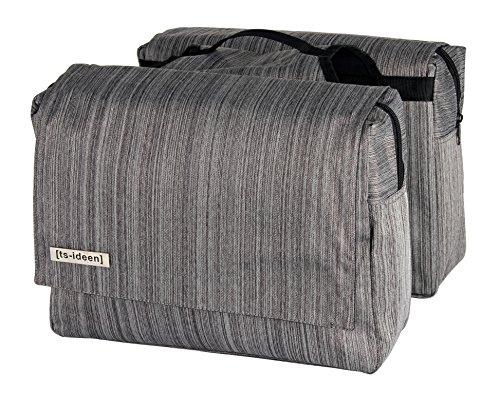 ts-ideen-sacchetto-doppio-per-bicicletta-portapacchi-antipioggia-grigio