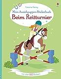 Mein Anziehpuppen-Stickerbuch: Beim Reitturnier