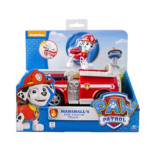Spin Master 6026052 -  Paw Patrol  Basic Vehicle - FireTruck - Marshall