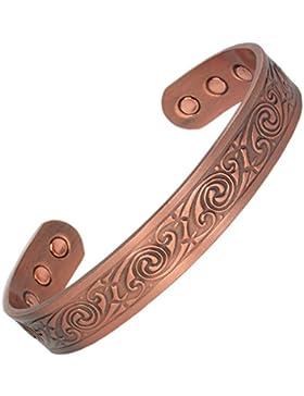 MPS® Kupfer magnetische Armband, Armreif Stil, mit 6 starken Magneten, mit gratis geschenk geldbörse