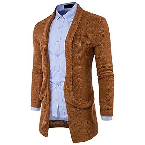 Veste Jean Vero Moda - Hommes Slim Fit Encapuchonné tricoter Chandail Mode