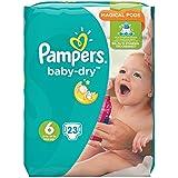 Pampers Baby-Dry Gr. 6,15+kg, 23Windeln, 1er Pack (1 x 23 Stück), 1 Packung = 1 Impfdosis