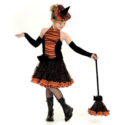 7754 orange Tutu Hexe Kinderkost-m (Orange Tutu Hexe Kind Kostüme)