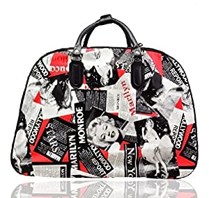 Marilyn Monroe Wheeled Bag Holdall Cabin Bag Hand Luggage Trolley Travel Bag by Unbranded