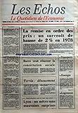 Telecharger Livres ECHOS LES No 12609 du 28 04 1978 LA REMISE EN ORDRE DES PRIX UN SURCROIT DE HAUSSE DE 2 EN 1978 TRANSPORTS ENERGIE LOGEMENT BARRE VEUT RENOVER LA CONCERTATION SOCIALE TERRIN DENOUEMENT INAUGURATION PAR LE CHEF DE L ETAT LYON UN METRO SANS MAUVAISES SURPRISES SOMMAIRE LA SNCF EN DEFICIT DE 850 MILLIONS DE FRANCS EN 1978 PROTECTIONNISME LE FMI A MEXICO OFFENSIVE AUSTRALIENNE EN EUROPE OLIVETTI TABAC CONSOMMATION LE DEMARCHAGE A DOMICILE FOIRE DE PARIS CIN (PDF,EPUB,MOBI) gratuits en Francaise