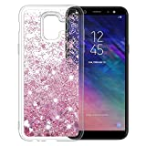 MASCHERI Case for Samsung Galaxy A6 2018, Slim Shiny Bling