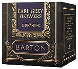 Usado, Barton Earl Grey Flowers - 15 pirámides segunda mano  Se entrega en toda España