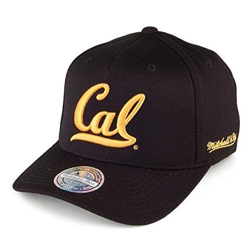 Mitchell & Ness California Golden Bears Snapback Cap - Eazy - Schwarz - Einstellbar - Golden Bears Basketball