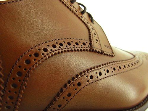 PIERRE CARDIN Chaussures Derby PC1605AC Camel Marron