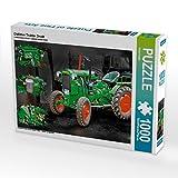 Oldtimer Traktor Deutz 1000 Teile Puzzle quer (CALVENDO Technologie)