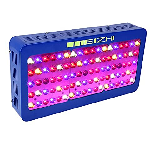 MEIZHI Reflector Series 450W LED Grow Light Switchable Daisy Chain Full Spectrum for Hydroponic Indoor Plants Veg and Bloom