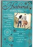 Ehemann Geburtstag Karte ~, für My Husband Birthday Wishes ~ Moderne Qualität afro-caribbean Design