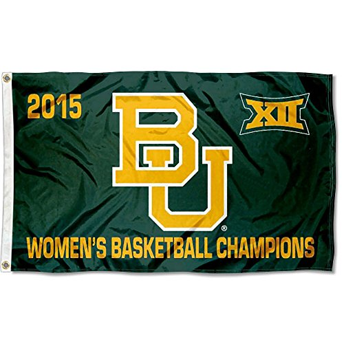 College Flags and Banners Co. Baylor Bears Frauen 'S Big 12 Champs Logo Flagge -