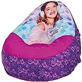 Pricesas Disney 269VIO - Sillón hinchable con diseño Violetta, color morado