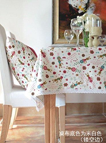 Bettwäsche 90 Quadratische X Tischdecke 90 (XMMLL Weihnachtsgeschenk Bettwäsche Rechteck Stoff Tischdecke für Speisen Wasserdicht 90 X 140 Cm)