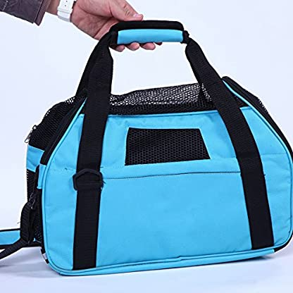 Treat Me Dog Travel Carrier Breathable Portable Easy to Clean 2