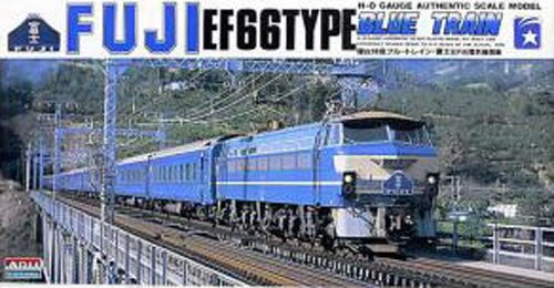 1/80 model kit HO Train series EF66 electric locomotive express sleeper Fuji (japan import)