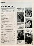 LECTURES POUR TOUS CONSTELLATION N? 222 du 01-07-1972 LA CHASSE AU JOB - QUI FINANCE LES PARTIS - J'AI ETE L'ADJOINT DE BARBIE - GOTTLIEB FUCHS - L'OFFENSIVE DES MALADIES VENERIENNES - DES HOTESSES POUR LES ETRANGERS VENANT TRAVAILLER CHEZ NOUS - DANS LES COLLINES DU VAR - UN ZOO - DES VILLES ONT DIT NON AU TABA