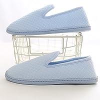 Verano Sandalias Zapatos de mes Paquete de verano Sección delgada de tacón Zapatillas de maternidad posparto Interior blando Interior antideslizante Pantuflas de primavera de postparto Tela de algodón transpirable absorbente de sudor Protección ambiental (Colores opcionales, Tamaño) Color / tamaño opcional ( Color : 11 , Tamaño : EU42/UK8.5/CN43 )