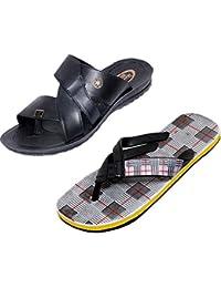 ff8e4ca773b7e Amazon.in  Indiweaves - Flip-Flops   Slippers   Men s Shoes  Shoes ...