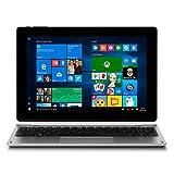 MEDION AKOYA E1239T 25,7 cm (10,1 Zoll) 2-in-1 Tablet/Notebook (Intel Atom x5-Z8350, 2 GB RAM, 64 GB Flash-Speicher, Windows 10) silber