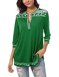 Blusas Camisas Tops Amazon Camisetas es Verde Mujer Y zpIwnaqYw f2ce6cff5c4
