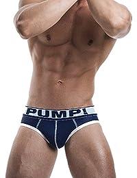 Pump Herrenunterwäsche Underwear Unterhose Slip Blue Steel Brief Navy