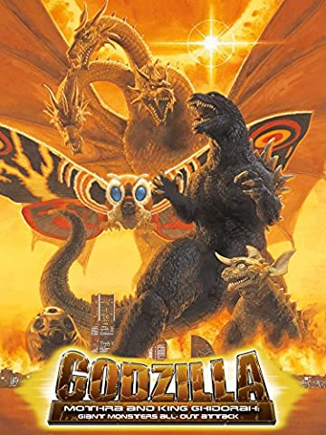 Godzilla, Mothra and King Ghidorah: Giant Monsters All-Out Attack (Giants Geist)