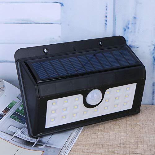 VicTop 400 lm 20 Luce di sicurezza Luce solare del pannello solare del LED alimentato del sensore di movimento della lampada esterna del giardino della lampada di paesaggio