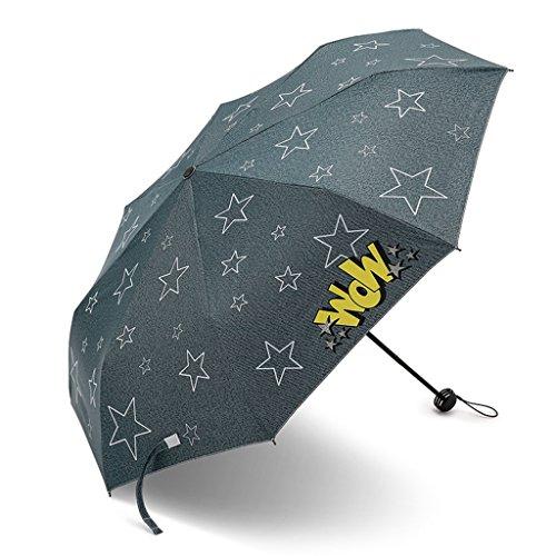 8edff8ac85fe6 Cowboy Personality Cartoon Umbrella Protector Solar UV A Prueba De Lluvia  Mango Antideslizante Paraguas Portátil De