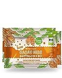 3 x Bio Cacao Nibs mit Sirup aus der Yacon-Wurzel. Der Superfood-Snack mit Ballaststoffen und Antioxdantien.