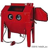 Sandstrahlkabine 420 Liter Sandstrahler Sandstrahlgerät Kabine NEU OVP