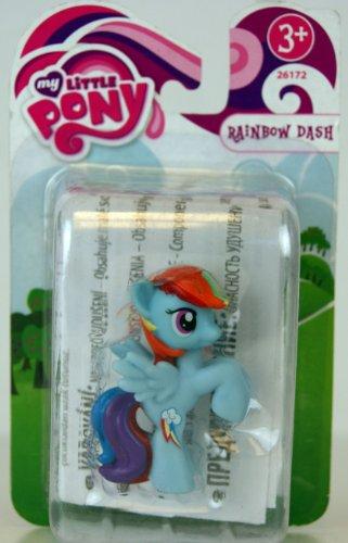 72 - FRiENDSHiP iS MAGiC - Mini-Pony - Rainbow Dash - ca. 5cm (Pony Dash)
