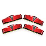 ADATA XPG Z1 16 GB (4 GB x 4) DDR4 2400 MHz CL16 Memory Modules - Red , AX4U2400W4G16-QRZ