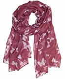 UK SELLER!!! Extensive range of Celebrity Style Ladies Long Scarves, Wraps, Shawls-ROSE BUTT