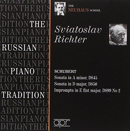 Russian Piano Tradition / The Neuhaus School- Schubert: Piano Sonatas D.845,D.850 (2009-06-09) (Schubert Piano Sonata D 845)